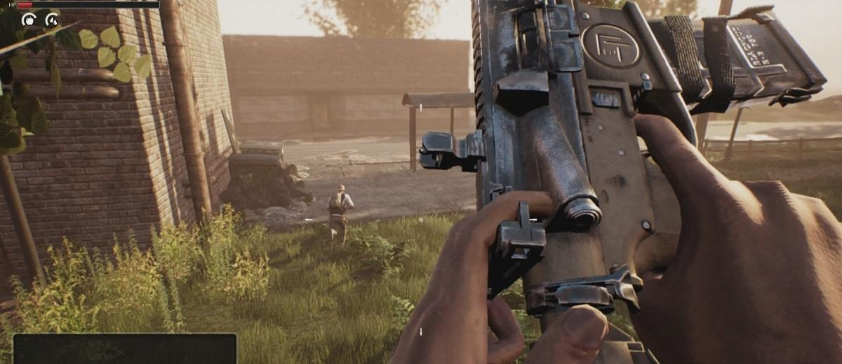 loading an assault rifle in lifeless video game